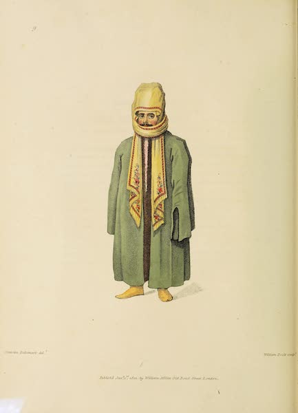 The Costume of Turkey - A Turk in his Chall, or Shawl (1802)