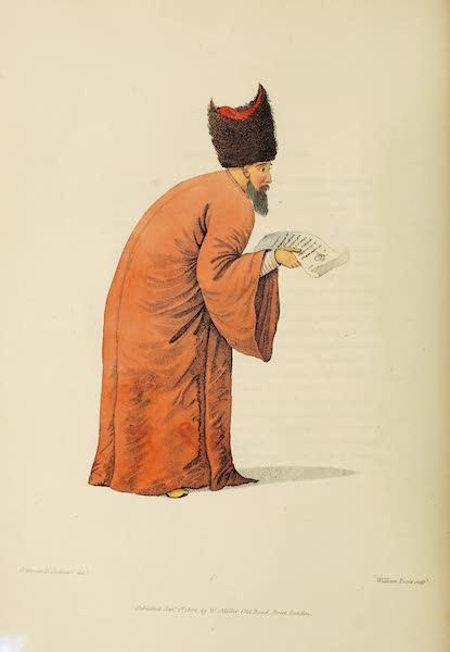 The Costume of Turkey - First Dragoman (1802)