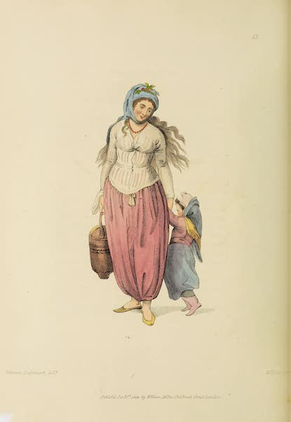 The Costume of Turkey - A Greek Woman of the Island of Marmora (1802)