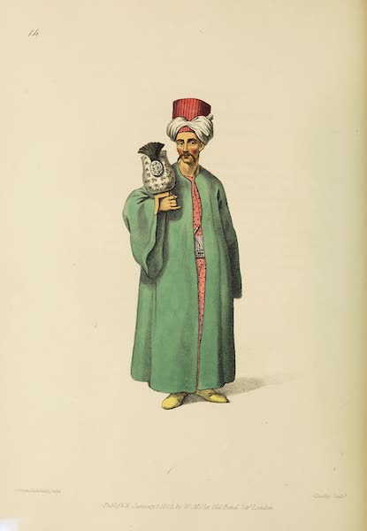 The Costume of Turkey - Turban Bearer to the Grand Signior (1802)