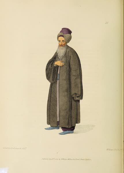The Costume of Turkey - A Jew (1802)