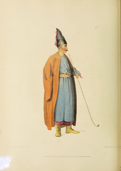 The Costume of Turkey - An Albanian (1802)
