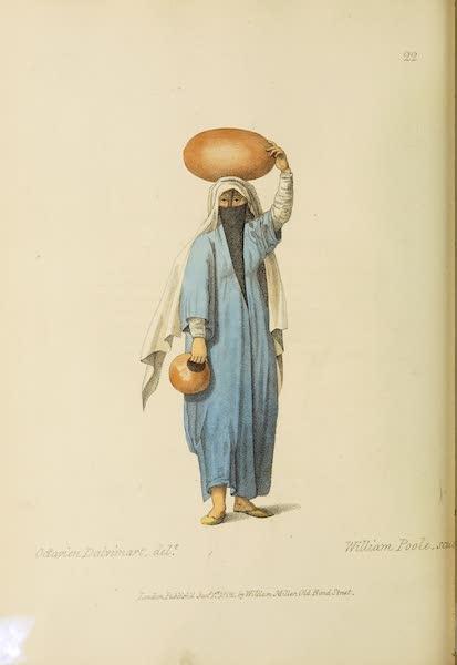 The Costume of Turkey - An Egyptian Arab (1802)
