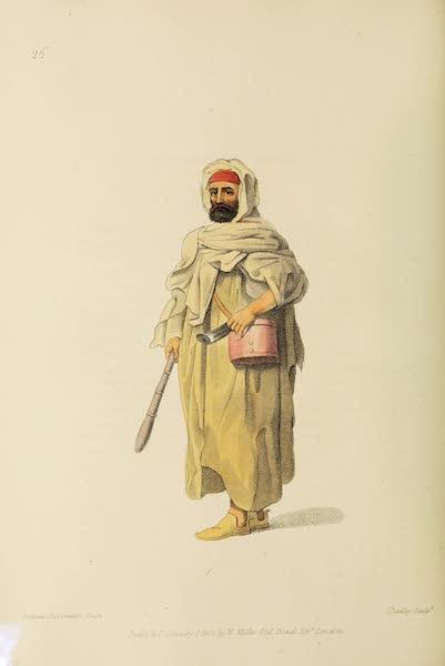 The Costume of Turkey - A Bedouin Arab (1802)