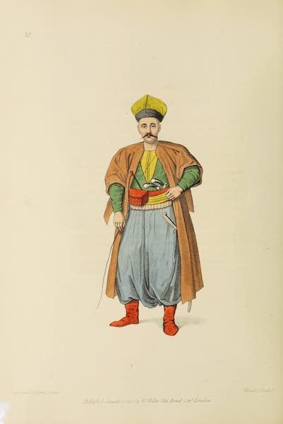 The Costume of Turkey - A Tartar (1802)