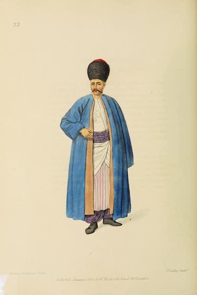 The Costume of Turkey - An Armenian (1802)
