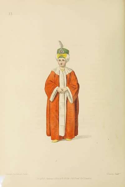 The Costume of Turkey - A Young Prince, heir to the Throne (1802)