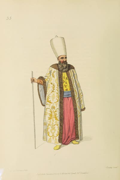 The Costume of Turkey - Capidji Bachi (1802)