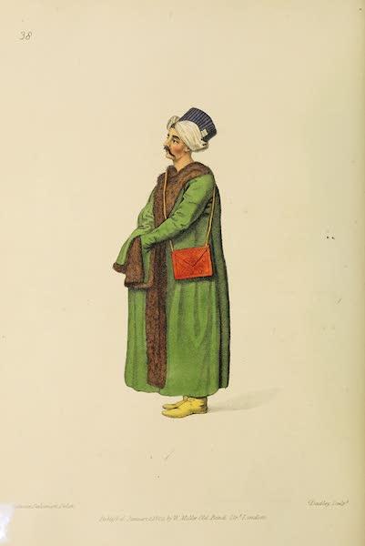 The Costume of Turkey - Private Secretary to the Grand Seignior (1802)