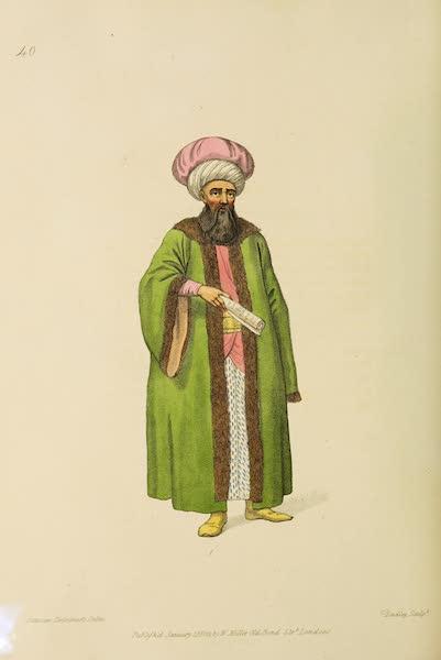 The Costume of Turkey - Reis Effendi (1802)