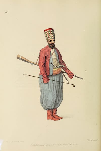 The Costume of Turkey - A Spahi (1802)
