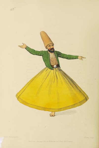 The Costume of Turkey - A Dervise (1802)