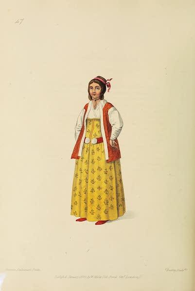 The Costume of Turkey - A Turkish Female of Pera (1802)