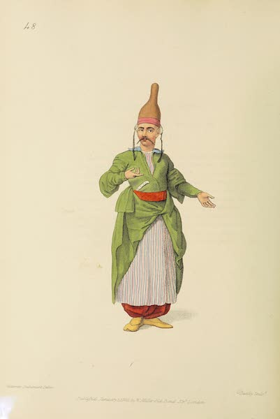The Costume of Turkey - The Confectioner to the Palace (1802)