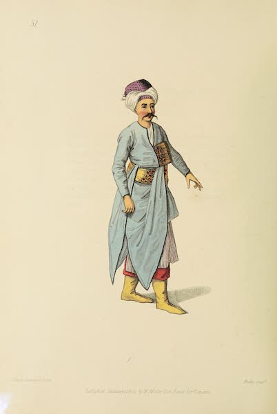 The Costume of Turkey - A Tchocadar (1802)