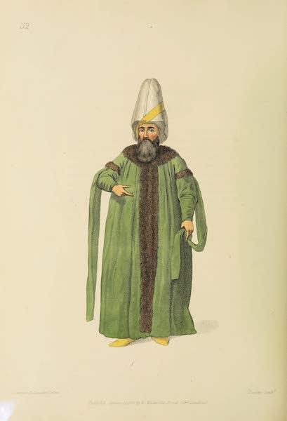 The Costume of Turkey - The Capitan Pasha (1802)