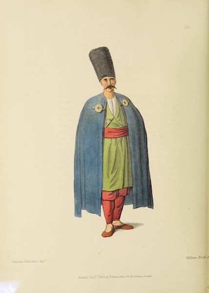 The Costume of Turkey - A Bosniac (1802)