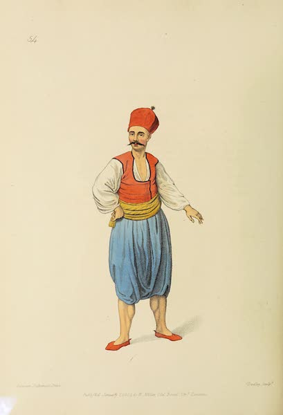 The Costume of Turkey - A Sailor (1802)