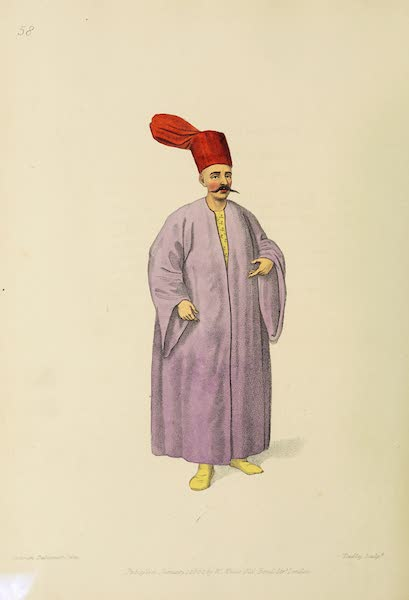 The Costume of Turkey - Bostandji Bachi (1802)