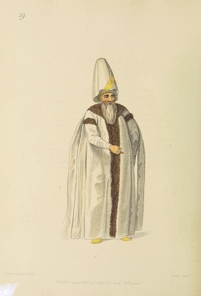 The Costume of Turkey - The Grand Vizier (1802)