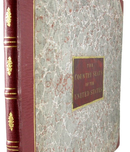 The Country Seats of the United States - Book Display (1808)
