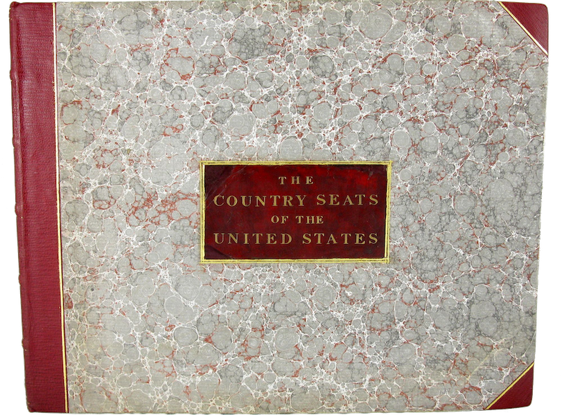 The Country Seats of the United States - Front Cover (1808)