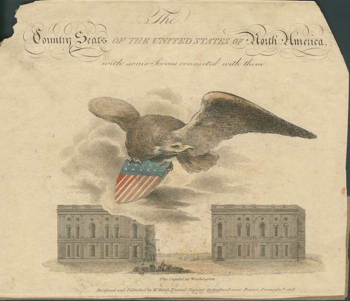 The Country Seats of the United States - Title Page (1808)