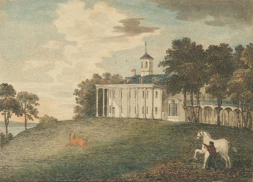 The Country Seats of the United States - Mount Vernon, Virginia, the Seat of the late Generl. G. Washington (1808)