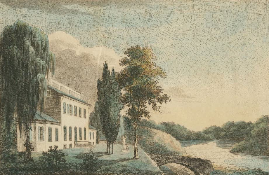 The Country Seats of the United States - Fountain Green, Pennsylvania, the seat of Mr. S. Meeker (1808)