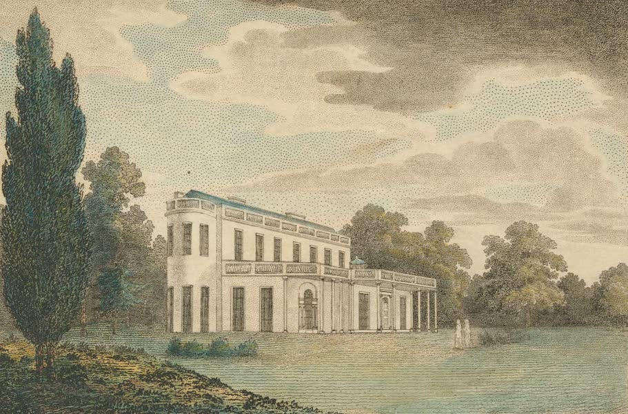 The Country Seats of the United States - Montibello, the Seat of General Smith, Maryland (1808)