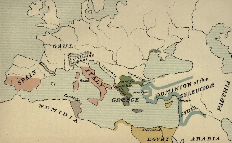 The Course of Empire - End of the Third Century before Christ (about 200 B.C.) (1883)