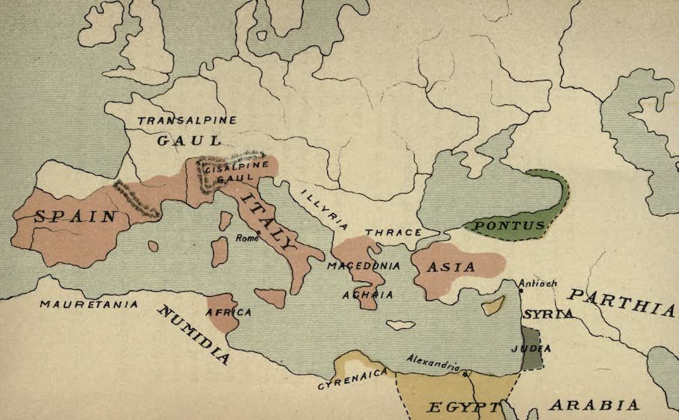 The Course of Empire - End of the Second Century before Christ (about 100 B.C.) (1883)