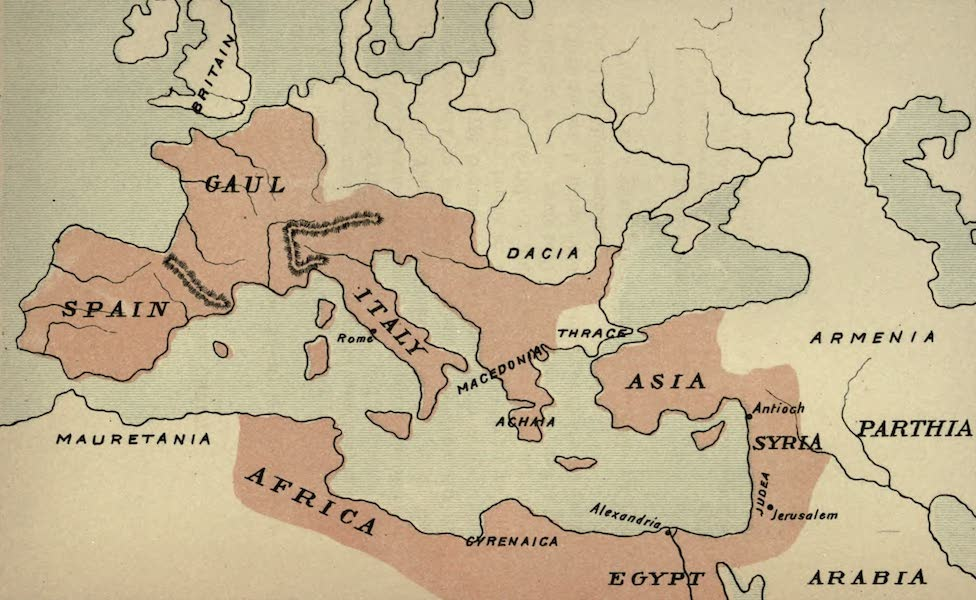 The Course of Empire - End of the First Century before Christ (about A.D. 1) (1883)