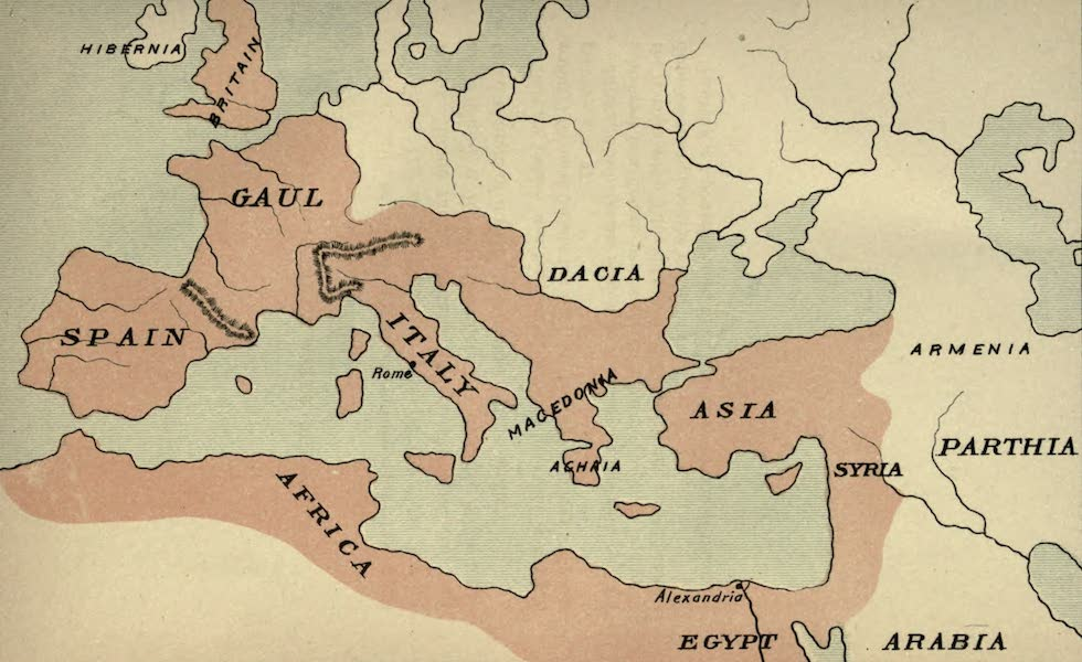 The Course of Empire - End of the First Century after Christ (about A.D. 100) (1883)