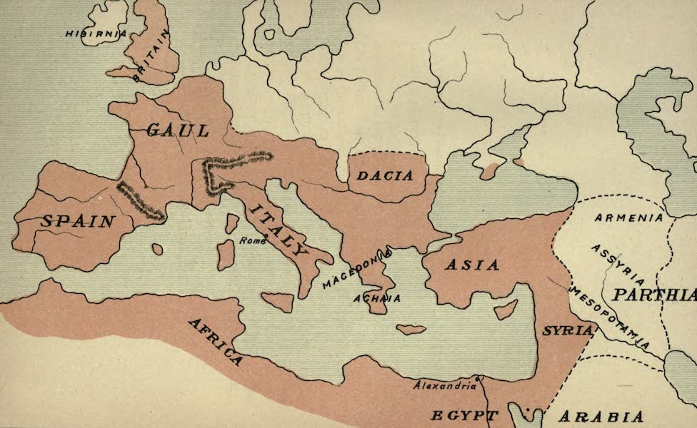 The Course of Empire - End of the Second Century (about A.D. 200) (1883)