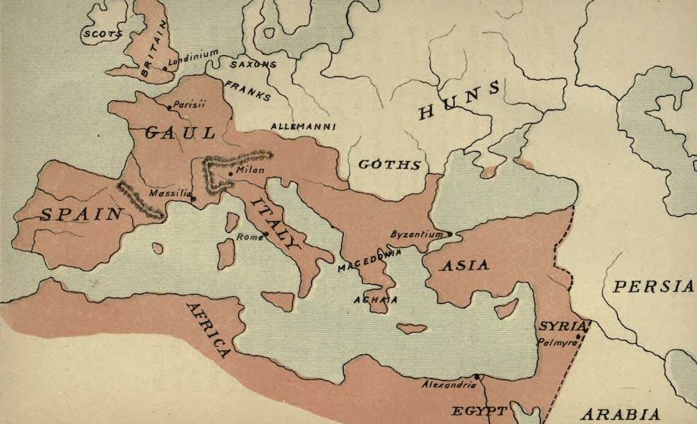 The Course of Empire - End of the Third Century (about A.D. 300) (1883)