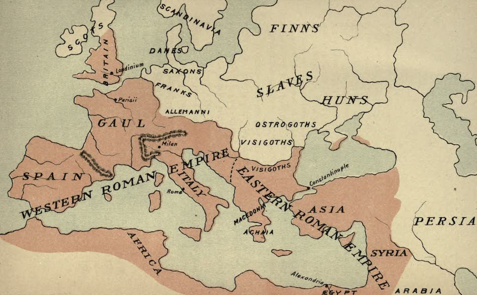 The Course of Empire - End of the Fourth Century (about A.D. 400) (1883)