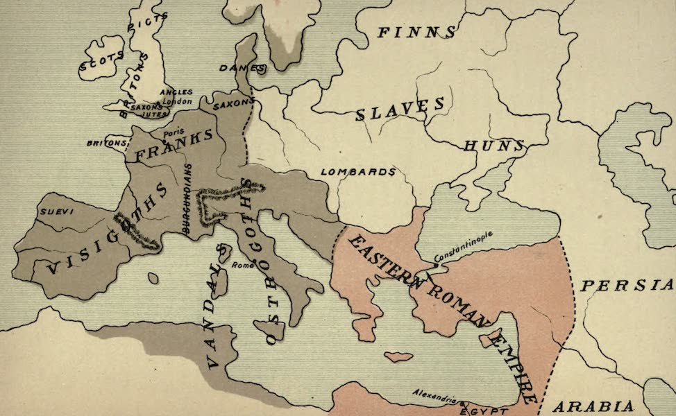 The Course of Empire - End of the Fifth Century (about A.D. 500) (1883)