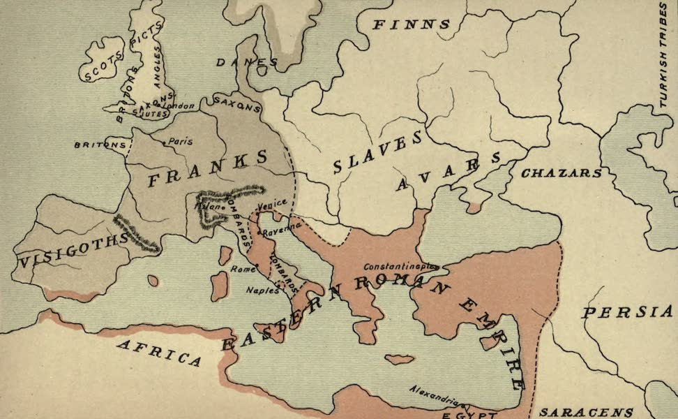 The Course of Empire - End of the Sixth Century (about A.D. 600) (1883)