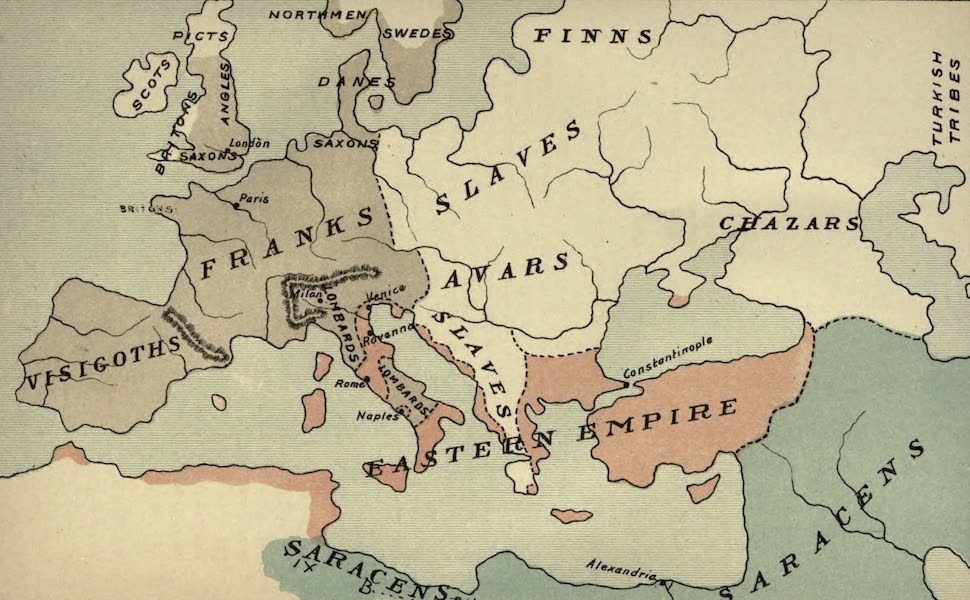 The Course of Empire - End of the Seventh Century (about A.D. 700) (1883)