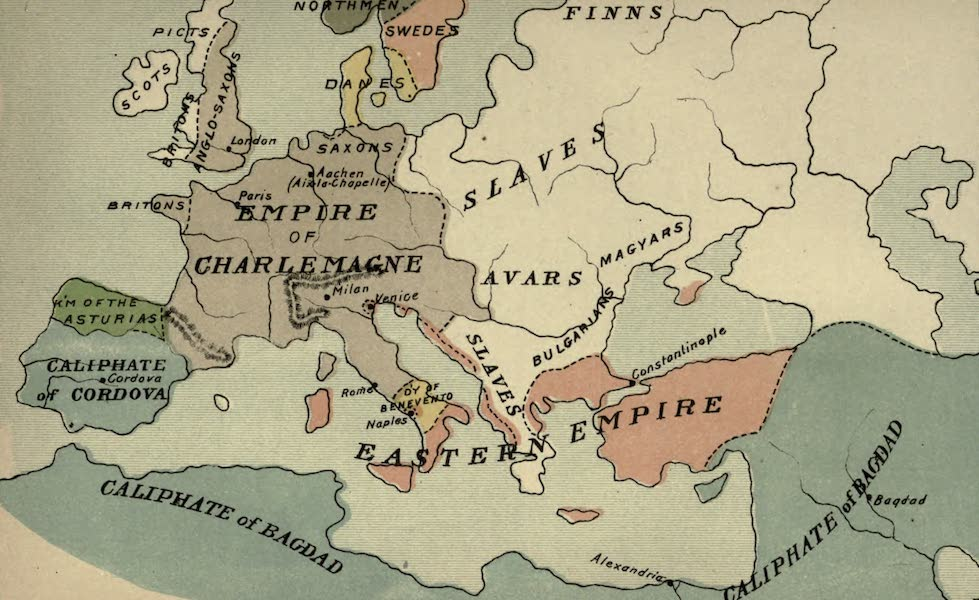 The Course of Empire - End of the Eighth Century (about A.D. 800) (1883)