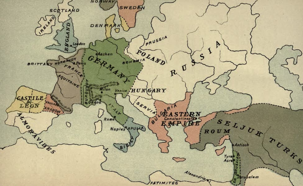 The Course of Empire - End of the Eleventh Century (about A.D. 1100) (1883)