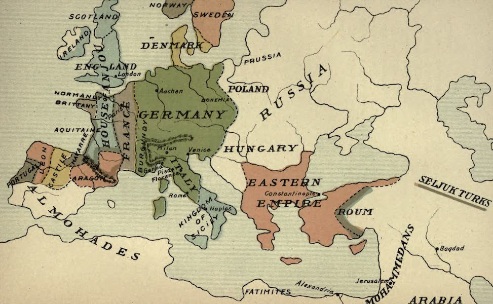 The Course of Empire - End of the Twelfth Century (about A.D. 1200) (1883)