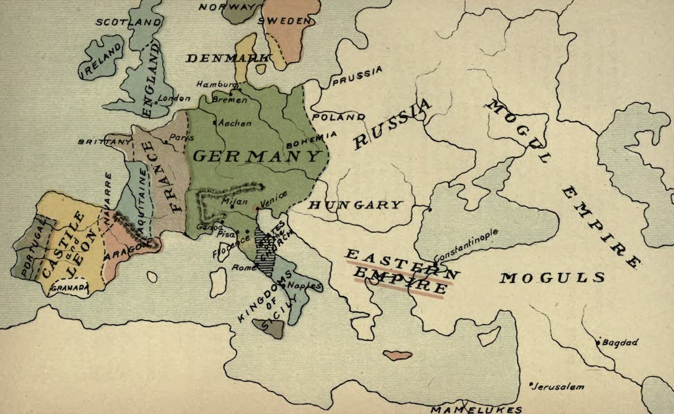 The Course of Empire - End of the Thirteenth Century (about A.D. 1300) (1883)