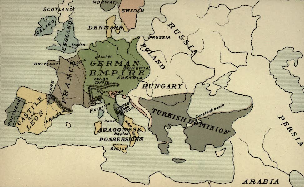 The Course of Empire - End of the Fifteenth Century (about A.D. 1500) (1883)