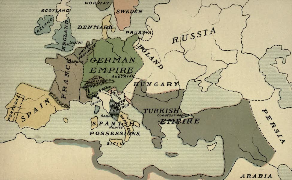 The Course of Empire - End of the Sixteenth Century (about A.D. 1600) (1883)