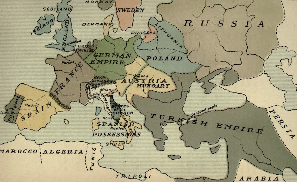 The Course of Empire - End of the Seventeenth Century (about A.D. 1700) (1883)