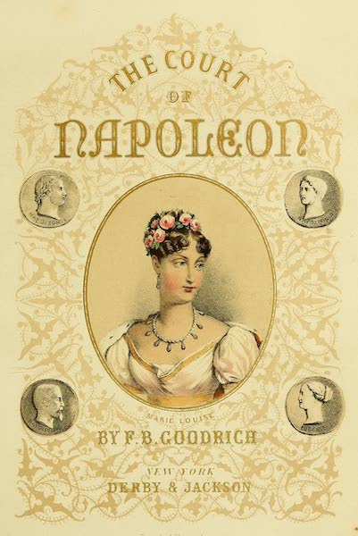 The Court of Napoleon - Illustrated Title Page (1857)