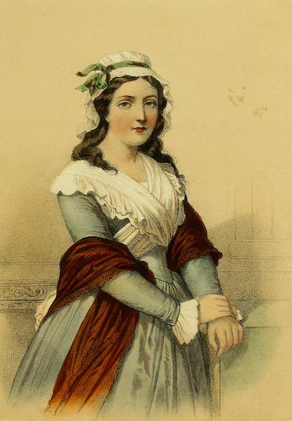 The Court of Napoleon - Charlotte Corday (1857)