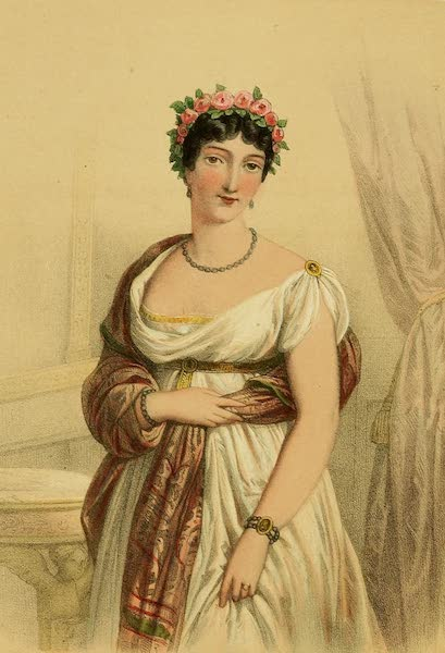 The Court of Napoleon - Madame Tallien (1857)